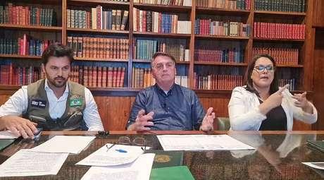 'O que ele quer com isso?', disse Bolsonaro sobre o deputado federal Luís Miranda (DEM-DF) a respeito das suspeitas envolvendo a compra da vacina indiana Covaxin.