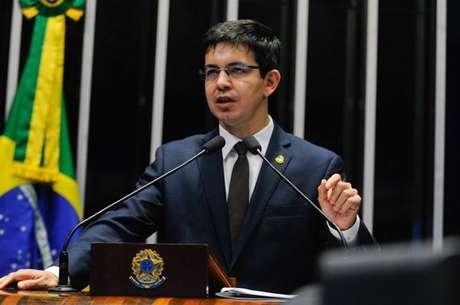 O senador Randolfe Rodrigues (AP), líder da Rede na Casa