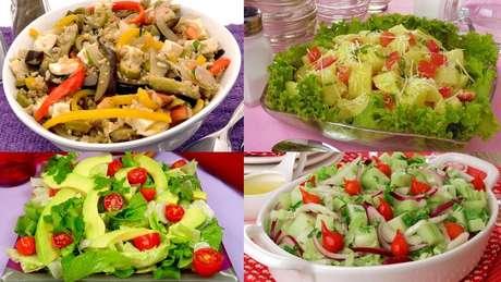 Receitas de saladas especiais