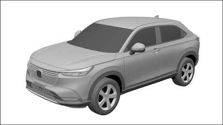 Novo Honda HR-V vendido no Brasil terá o mesmo visual da versão asiática.