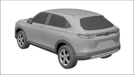 Novo Honda HR-V deve chegar ao mercado brasileiro somente em 2022.