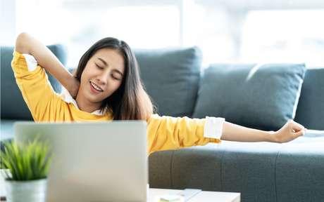 Exercícios ajudam a relaxar após a jornada de trabalho