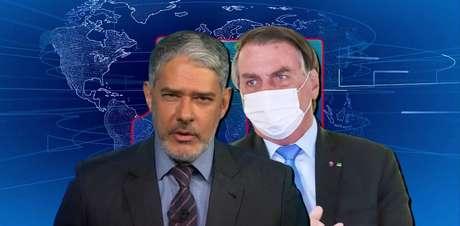 Atacado várias vezes por Bolsonaro, Bonner contra-ataca ao ressaltar denúncias de corrupção no governo