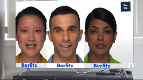 Instrutores virtuais da Berlitz
