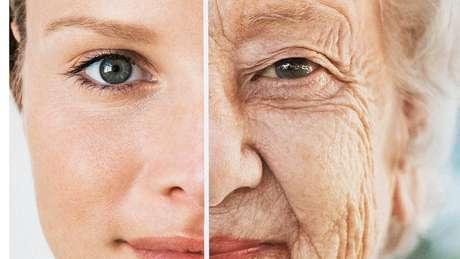 O envelhecimento se nota principalmente pela perda de volume no rosto
