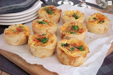 Guia da Cozinha - Quiche de brócolis com pão de forma
