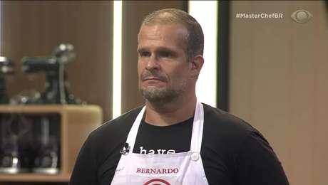Bernardo foi o 1º eliminado da edição 2021.