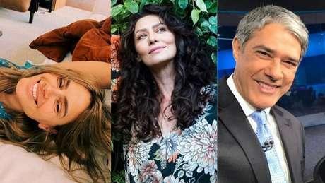Carolina Dieckmann, Maria Fernanda Cândido e William Bonner estão na lista.