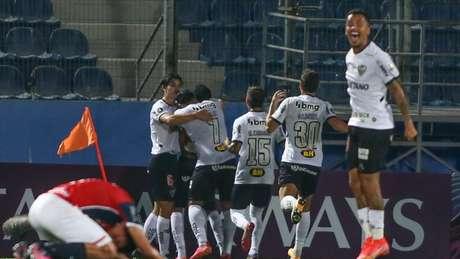 O Galo conseguiu grandes resultados fora de casa e espera sair de Buenos com um placar favorável para o jogo de volta, no Mineirão-Divulgação / Twitter Conmebol Libertadores