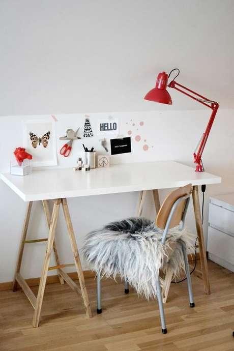 59. Moveis com cavalete e decoração charmosa – Foto Pinterest