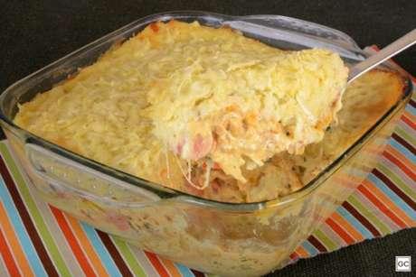 Guia da Cozinha - Escondidinho de batata-doce fácil