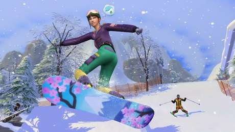"""Expansão """"Diversão na Neve"""" de The Sims 4"""