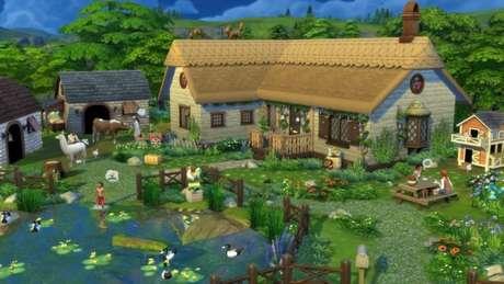 """Expansão """"Vida Campestre"""" de The Sims 4"""