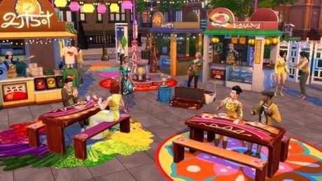 """Expansão """"Vida na Cidade"""" de The Sims 4"""