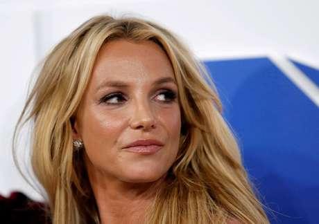 Britney Spears durante premiação da MTV em 2016 em Nova York 28/08/2016 REUTERS/Eduardo Munoz