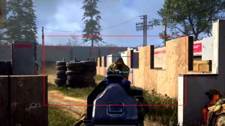 User Vision Pro em Call of Duty: Warzone