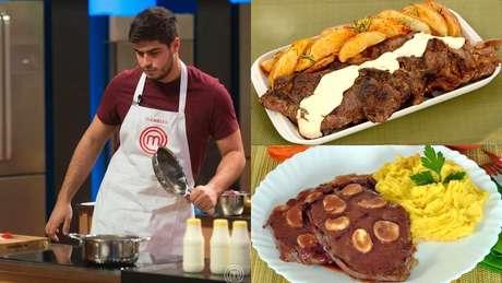 Gabriel, segundo eliminado do reality, e receitas de alcatra inspiradas nos pratos da noite