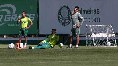 Dudu e Pedrão estão liberados para atuarem pelo Verdão (Foto: Cesar Greco/Palmeiras)