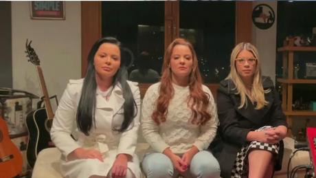 Em vídeo, as cantoras falam sobre os dados de violência doméstica e cantam sua nova canção sobre o tema