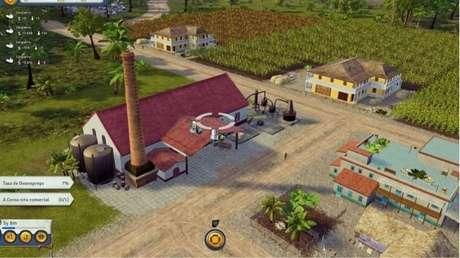 2 plantações de cana para cada destilaria