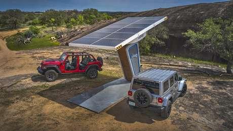 4xe é o novo 4x4 da Jeep.