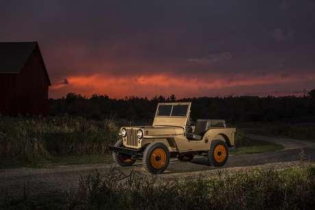 CJ-2A, um Jeep 4x4 para as massas.