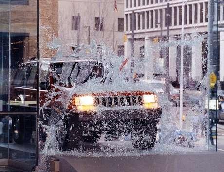 Jeep Grand Cherokee em Detroit (1992).