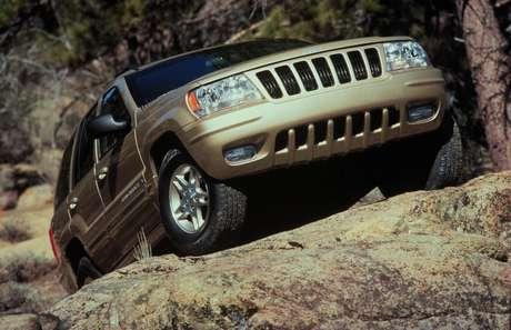 Tração e dirigibilidade: Grand Cherokee 1999.