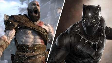 Kratos e Pantera Negra: separados por um ator