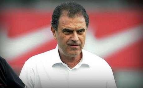 Kleber Leite nos tempos de dirigente do Flamengo (Foto: Reprodução)