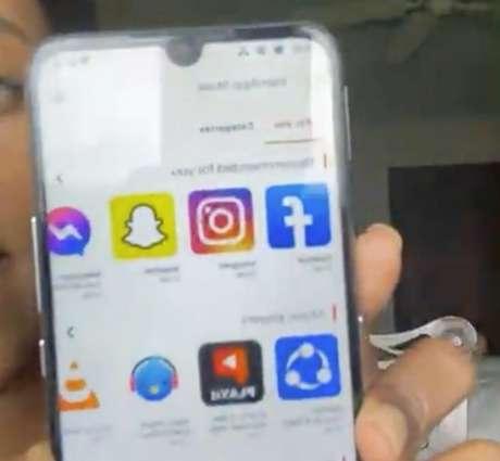 PatriApp Store do Freedom Phone tem Facebook, Instagram e Messenger