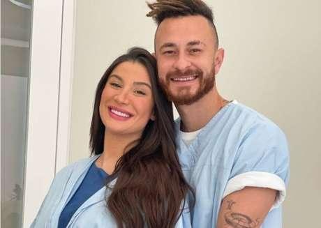 Nasce o bebê Cris, primeiro filho de Bianca Andrade e Fred.