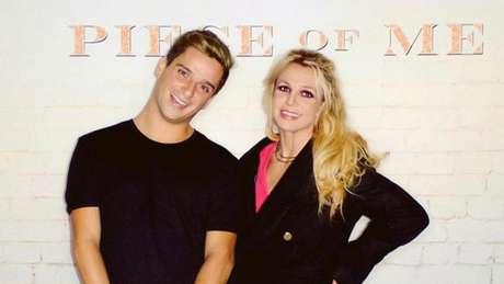 """Meet and greet de Felipe Servat com Britney em Blackpool, no Reino Unido, quando ele notou que """"ela estava estranha"""""""
