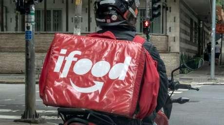 Entregador do iFood