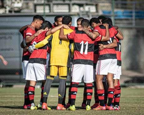 Flamengo está na semifinal do Brasileiro Sub-17 (Foto: Carlos Santana/Portal da Base Brasil)
