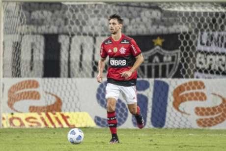 Último jogo de Rodrigo Caio foi contra o Atlético-MG (Alexandre Vidal/Flamengo)