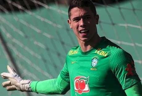 Brenno já havia testado positivo para a Covid-19 no mês anterior, quando estava no Grêmio (Marco Galvão / CBF)