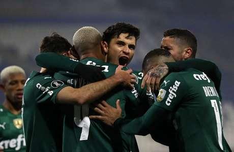 Palmeiras tem ótimos números como visitante na temporada de 2021 (Foto: PABLO SANHUEZA / POOL / AFP)