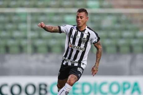 Vargas é mais um jogador do Galo que foi contaminado pelo coronavírus-(Pedro Souza/Atlético-MG)