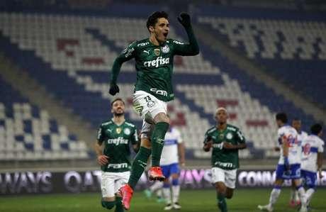 Palmeiras tem Brasileirão antes da volta nas oitavas de final da Libertadores (Foto: PABLO SANHUEZA / POOL / AFP)
