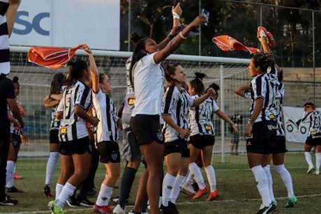 O time alvinegro superou as Spartanas no duelo mineiro pela elite nacional-(Bruno Sousa/Atlético-MG)