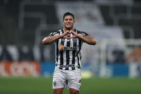 Hulk voltou a marcar no Brasileiro e tem participação direta em nove gols do Galo no campeonato-(Pedro Souza/Atlético-MG)