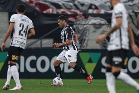 Hulk marcou duas vezes e decidiu para o Atlético-MG (Foto: Pedro Souza/Atlético-MG)