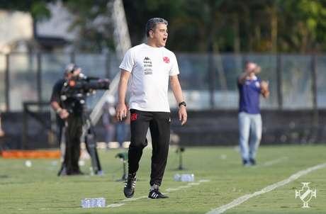 Marcelo Cabo foi demitido do Vasco nesta segunda-feira (Rafael Ribeiro/Vasco)