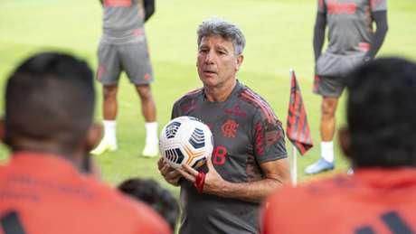 Contra o Bahia, Renato Gaúcho fará a sua estreia pelo Fla no Brasileiro (Foto: Alexandre Vidal / Flamengo)