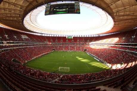 Mané Garrincha deve receber um público de cerca de 15 mil pessoas (Foto: Gilvan de Souza / Flamengo)