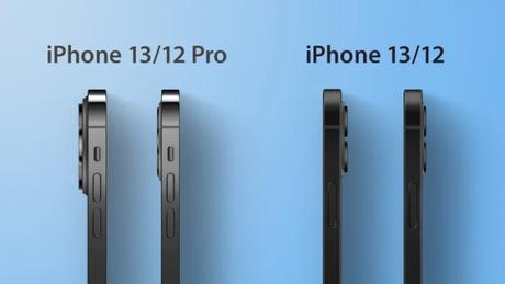 Esquemas mostram possível design de câmeras do iPhone 13 e 13 Pro