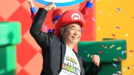 Shigeru Miyamoto, diretor representativo da Nintendo