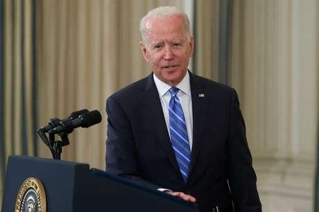Presidente dos EUA, Joe Biden, discursa na Casa Branca 19/07/2021 REUTERS/Jonathan Ernst