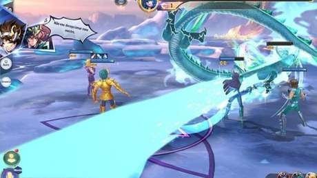 Link entre personagens permite combos conjuntos